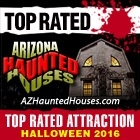 Top Rated 2016 by ArizonaHauntedHouses.com