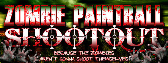 Zombie Paintball Shootout